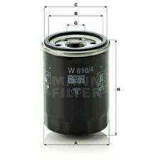 Mann W610/4 Oil Filter Spin On 90mm Height 66mm Outer Diameter Service