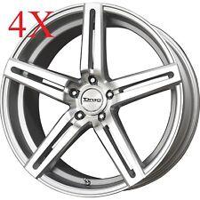 Drag Wheels Dr-60 20x10 5/120 et35 72.56mm Silver Rims For BMW 335 535 M3 E46