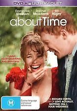 ABOUT TIME - BRAND NEW & SEALED DVD + UV (RACHEL MCADAMS, BILL NIGHY) ROM COMEDY