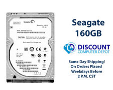 "160GB 2.5"" HDD Notebook / Laptop Hard Drive Internal SATA Seagate Brand"