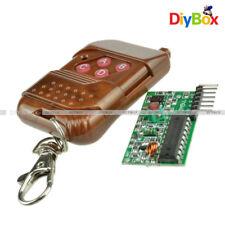 4 channel 433MHZ IC2262/2272 wireless remote control kits 4 key wireless remote