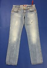 jeans take two nelly donna usato strappati destroyed w27 tg 41 slim sexy T3582