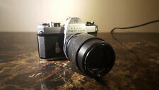 Pentax Asahi Spotomatic Film SLR with Untested lens seperating from body C pics