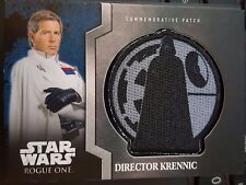 Star Wars Rogue One Patch Card Director Krennic #5