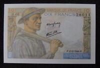 France 10 Francs Banknote 1944 UNC