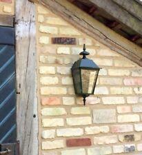 Außenlampe Haustür - schöne Landhaus Außenleuchte Wandlampe dkl-grün Triest 52cm