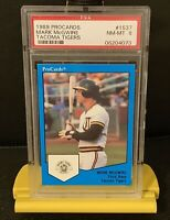 1989 Procards Mark McGwire Tacoma Tigers Psa 8 ESPN 30/30 STAR! Benefits Charity