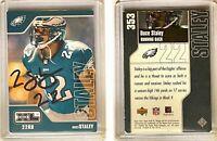 Duce Staley Signed 2002 Upper Deck XL #353 Card Philadelphia Eagles Autograph