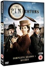 THE PINKERTONS 1 (2014-2015): Detective Agency - TV Season Series - NEW  DVD UK