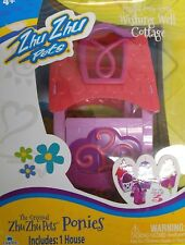 Zhu Zhu Pets Playful Wishing Well Cottage Pony House Ponies Horse Stable New