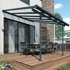Patio Cover Awning Garden 3m x 9.15m Outdoor Canopy Shelter UV Protection Large