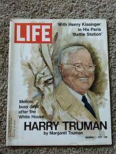 Life Magazine December 1, 1972