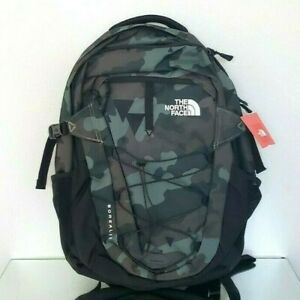 THE NORTH FACE BOREALIS BACKPACK CAMO GREEN MILITARY