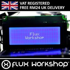2004A Blue LCD Module HD44780 20x4 Arduino Parallel Pi Serial I2C Flux Workshop