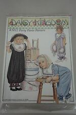 Daisy Kingdom Vintage Pattern 5012 Party Pants Size 2T-6X 1989