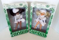 Vintage Radio City Rockette Dolls Limited Edition Snowball Goldberger Pair NRFB