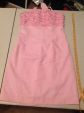Lily Pulitzer Size 2 Candy Stripe Strapless Dress