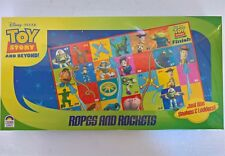 ~ Toy Story - ROPES & ROCKETS BOARD GAME Snakes & Ladders