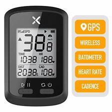 XOSS Bike Computer G+ Wireless GPS Speedometer, Waterproof Road Bike MTB Bicycle