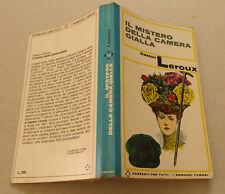 1967 = IL MISTERO DELLA CAMERA GIALLA = G.LEROUX .TASCABILI..GARZANTI.. ETNA