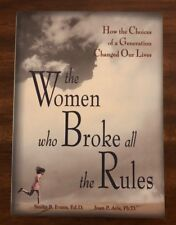 The Women Who Broke All the Rules by Evans & Avis PB FREE SHIPPING
