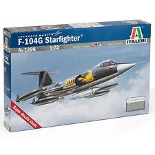 ITALERI F-104G RICOGNIZIONE 1296 1:72 kit modello di aeromobile