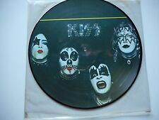 "KISS ""KISS"" LP PICTURE DISC ORIGINAL DUTCH STEMRA # 726 MINT & UNPLAYED"