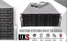 UXS Server 4U Supermicro Storage 24 Bay 6Gbs JBOD FREENAS 2x Sandy Bridge ZFS