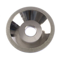 """5""""Electroplate Bowl Shape Diamond Grinding Wheel Buffing Disc For Deburring 150#"""