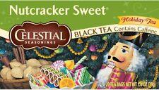 Nutcracker Sweet Holiday Tea by Celestial Seasonings, 2  boxes