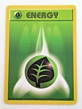 1999 Pokemon Wizards 99 Shadowless Base Nintendo Energy Grass WotC Vtg TCG  card