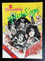 1979 KISS Vintage THAILAND SPECIAL Cartoon Comic Magazine Book MEGA RARE!!!