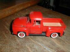 Signature Models 1:32 Sprouts Red 1956 Ford F100 Farm Pickup Truck Die Cast