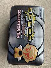 Gogo's Crazy Bones Exclusive Limited Edition Collector Tin Case #2 w/10 Gogo's