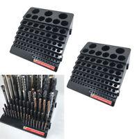 2 pezzi scatola portautensili per fresa trapano portaborse, nero