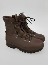 British Army 11M/45 Boots Defender COMBAT Leather Brown ALTBERG NEW MOD