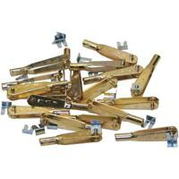 Sullivan Products S527 527 Sullivan Gold- N- Clevis 2-56 (12) For RC Airplanes