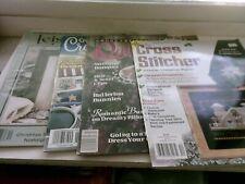 Set of 4 Assorted Cross Stitch Magazines