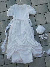 VINTAGE ancien ROBE de COMMUNION enfant MARIAGE mariée WEDDING dress children