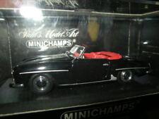 1:43 Minichamps Mercedes-Benz 190 SL Cabrio Black 1955-62 n. 430033134 OVP