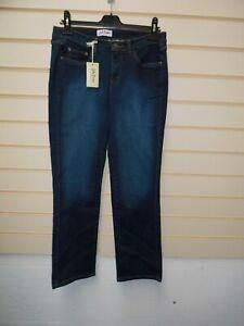 "John Baner Women's Size 14 Jeans Blue Casual Inside Leg 31"" BNWT  G045"