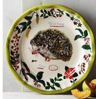 NEW ANTHROPOLOGIE NATHALIE LETE Hedgehog Dinner Plate