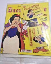 1980 Vintage Walt Disney Panini Snow White / 7 Dwarfs Sticker Album With Sticker