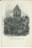 CPA - MELLE - Eglise St-Hilaire, côté Nord