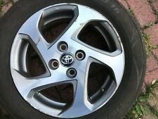 "TOYOTA AYGO / YARIS 15"" SPARE ALLOY WHEEL & TYRE 42611-0DC60 GENUINE OEM PART #1"
