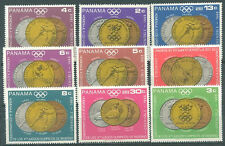 PANAMA - OLYMPIC MEDALS Mi # 1077/85 Complete Set MNH VF