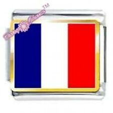 DAISY CHARM Picture Italian Charm - FRENCH FLAG