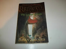 Redwall The Legend Of Luke by Brian Jacques SC new