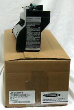 Lexmark C770 C772 Black Toner Hi Yield C7700KH 10k
