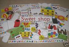 Sweet Shop role play- EYFS KS1 KS2 Primary- maths counting